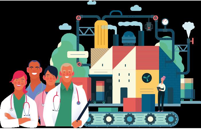 BCN Medicare Industrial Hub